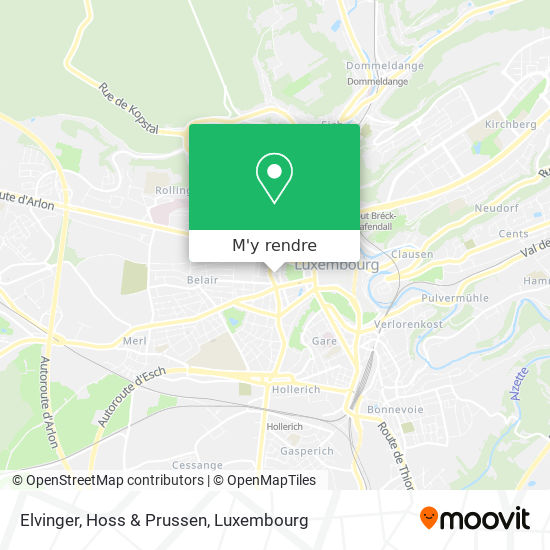 Elvinger, Hoss & Prussen plan