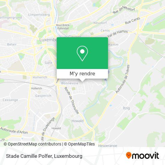 Stade Camille Polfer plan