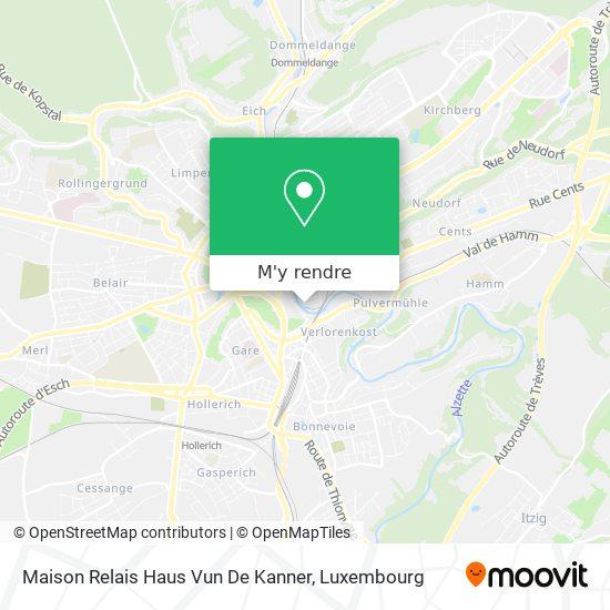 Maison Relais Haus Vun De Kanner plan