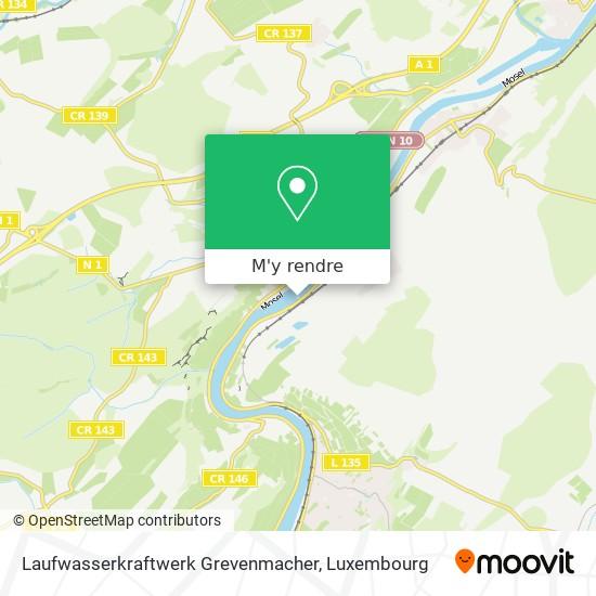 Laufwasserkraftwerk Grevenmacher plan