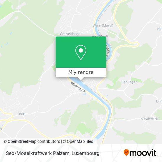 Seo/Moselkraftwerk Palzem plan