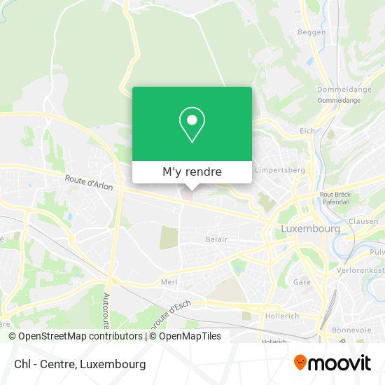 Centre Hospitalier plan