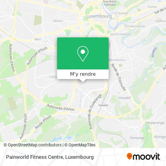 Painworld Fitness Centre plan