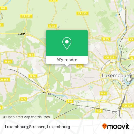 Luxembourg;Strassen plan