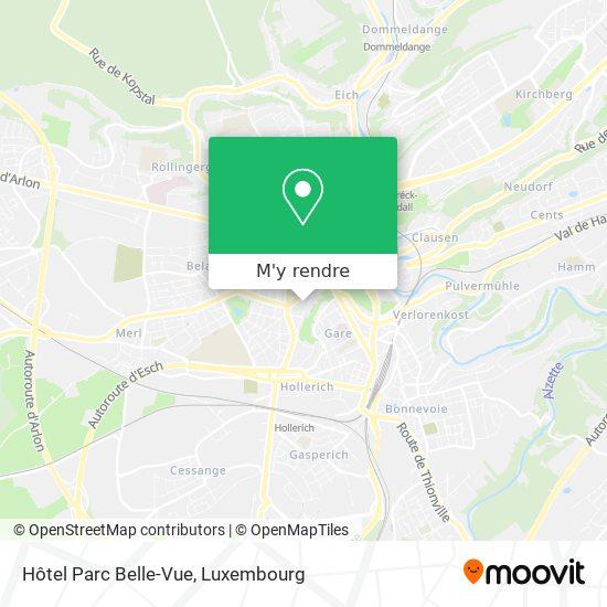 Hôtel Parc Belle-Vue plan