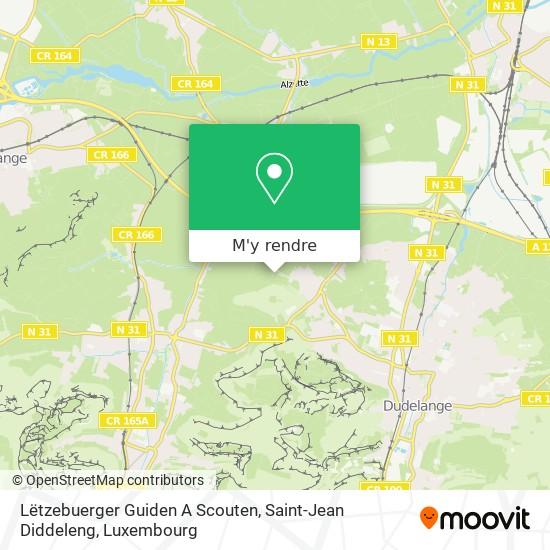 Lëtzebuerger Guiden A Scouten, Saint-Jean Diddeleng plan