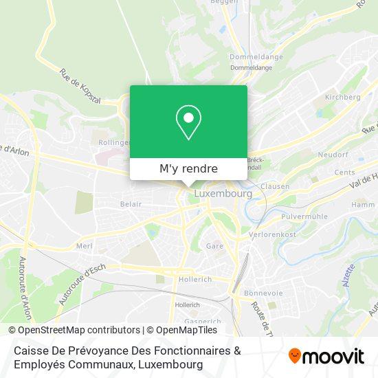 Caisse De Prévoyance; Caisse De Maladie Des Fonctionnaires & Employés Communaux plan