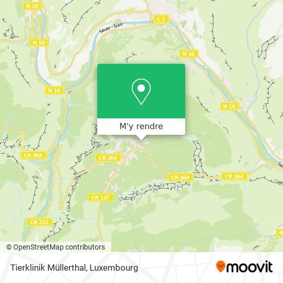 Tierklinik Müllerthal plan