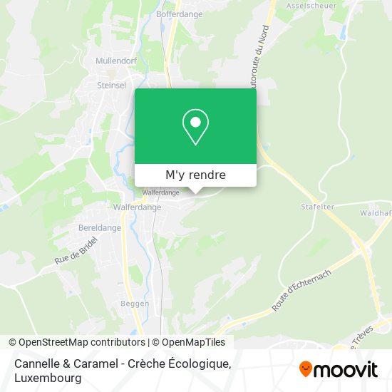 Cannelle & Caramel - Crèche Écologique plan