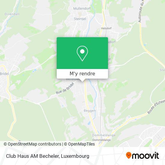 Club Haus Am Becheler plan