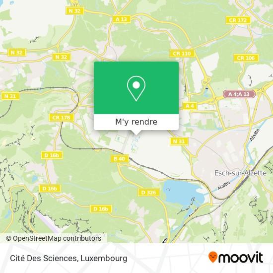 Cité Des Sciences plan