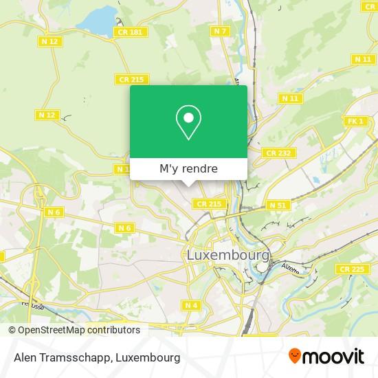 Alen Tramsschapp plan