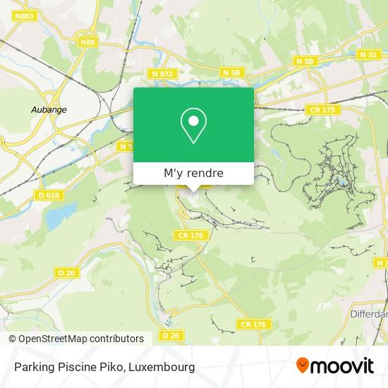 Parking Piscine Piko plan