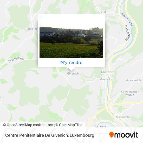 Centre Pénitentiaire De Givenich plan