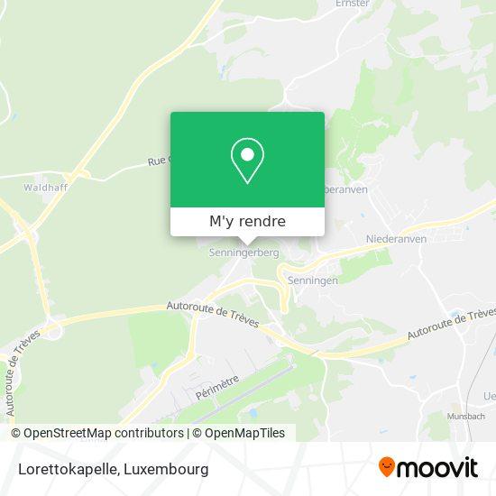 Lorettokapelle plan