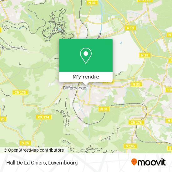 Hall De La Chiers plan