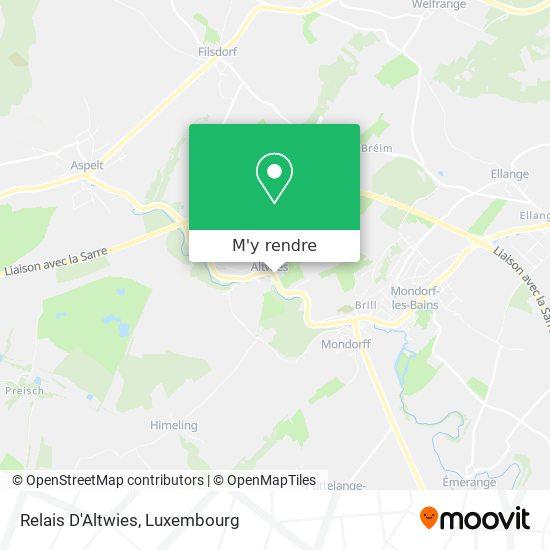 Relais D'Altwies plan