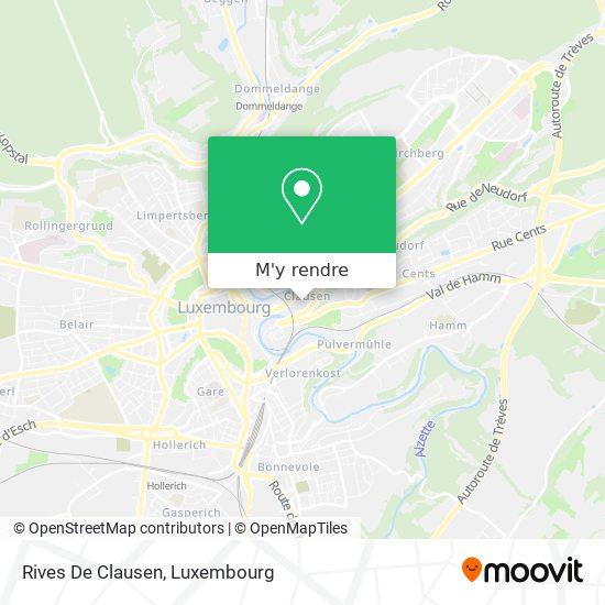 Rives De Clausen plan