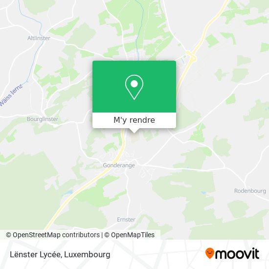 Lycée Lenster plan