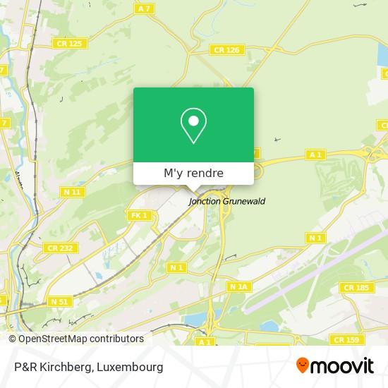 P&R Kirchberg plan
