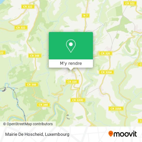 Mairie De Hoscheid plan