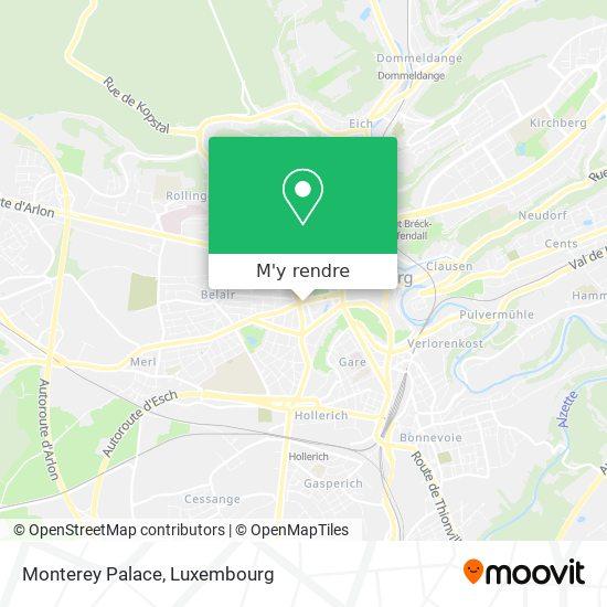 Monterey Palace plan