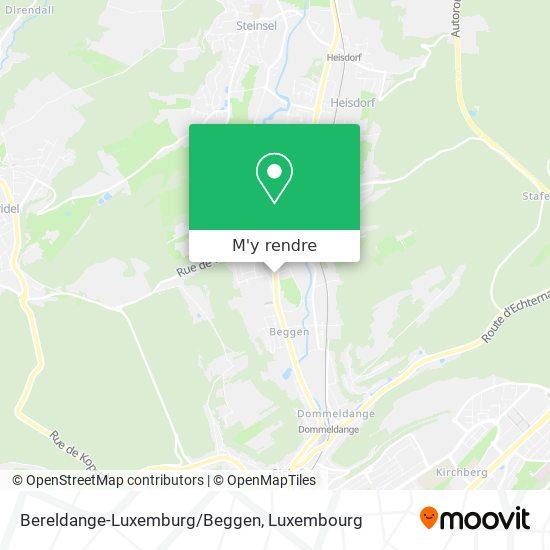 Bereldange-Luxemburg/Beggen plan