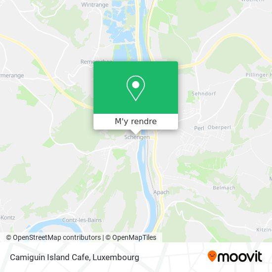 Camiguin Island Cafe plan