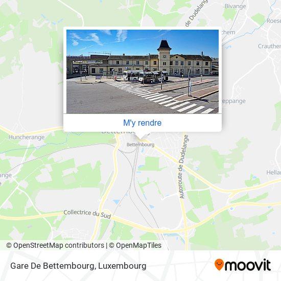 Gare De Bettembourg plan