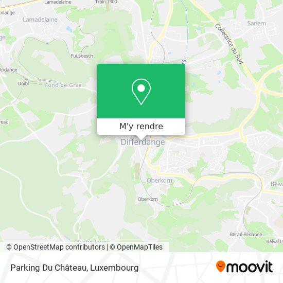 Parking Du Château plan