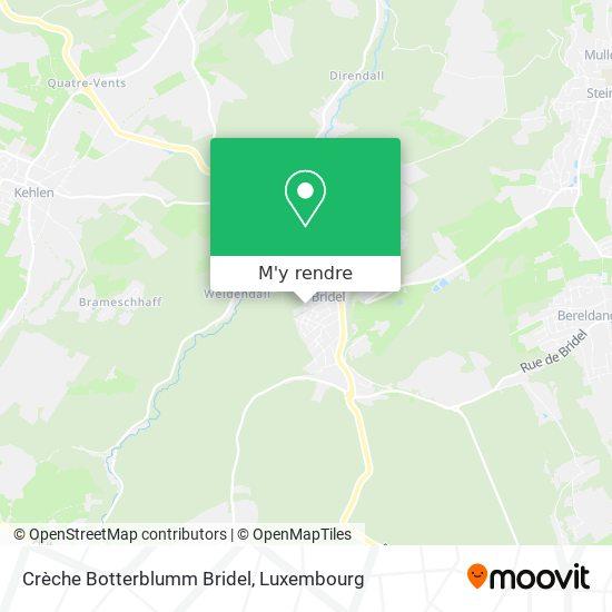 Crèche Botterblumm Bridel plan