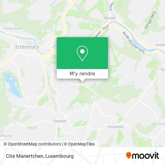 Cité Manertchen plan