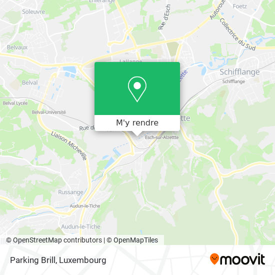 Parking Brill plan