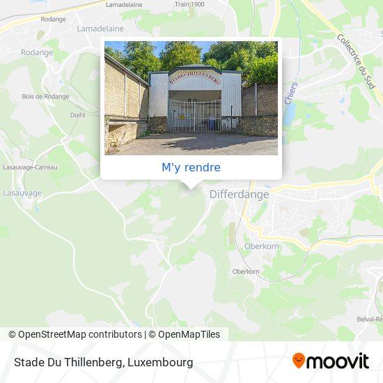Stade Du Thillenberg plan