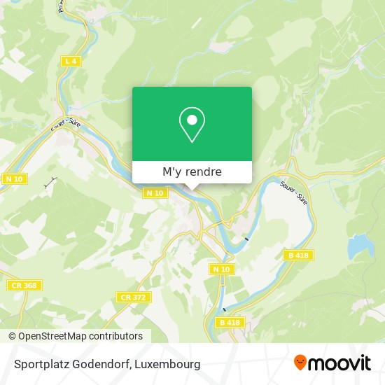 Sportplatz Godendorf plan