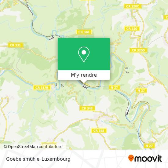 Goebelsmühle plan