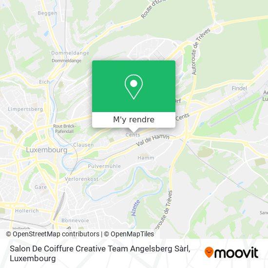 Salon De Coiffure Creative Team Angelsberg Sàrl plan