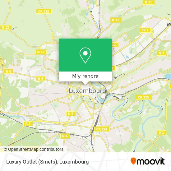 Luxury Outlet (Smets) plan
