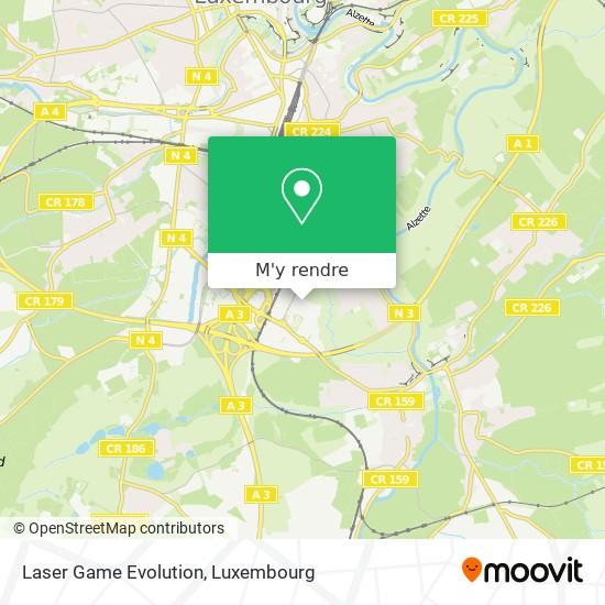 Laser Game Evolution plan