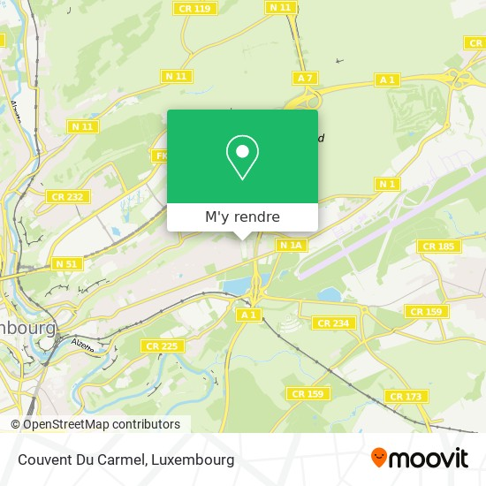 Couvent Du Carmel plan