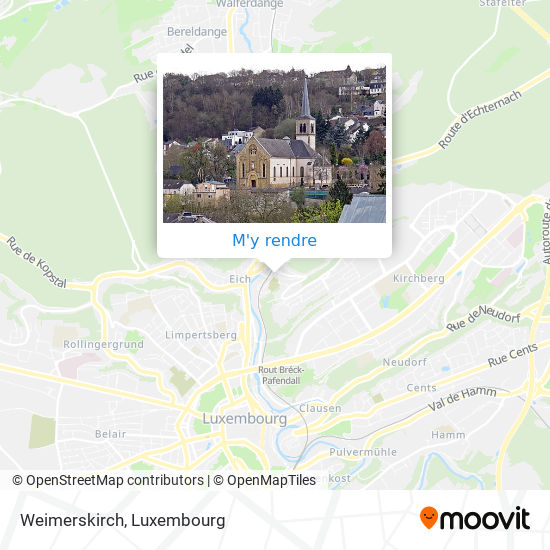 Weimerskirch plan