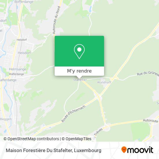 Maison Forestière Du Stafelter plan