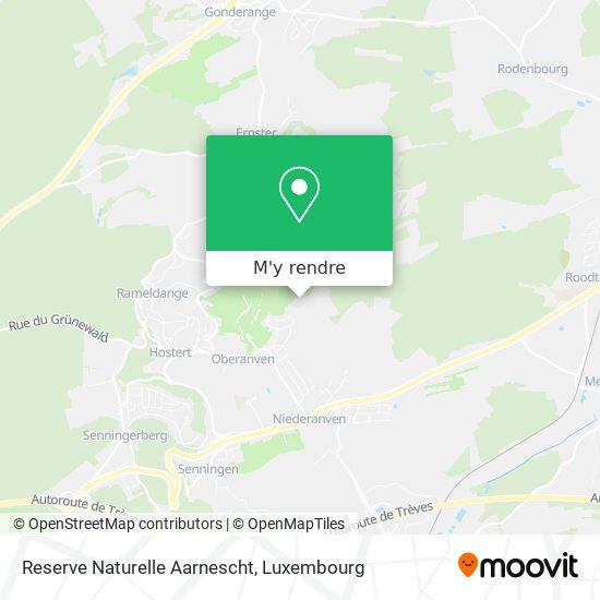 Reserve Naturelle Aarnescht plan
