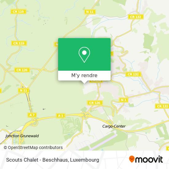 Scouts Chalet - Beschhaus plan