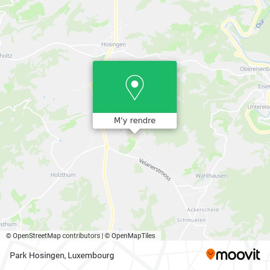 Park Hosingen plan
