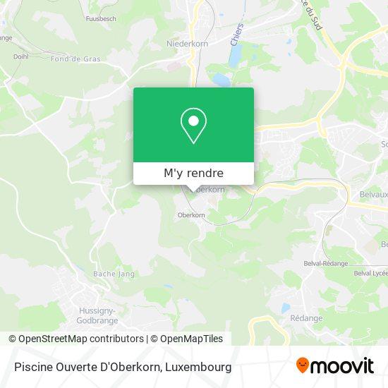 Piscine Ouverte D'Oberkorn plan