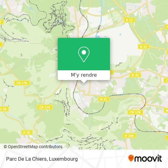 Parc De La Chiers plan