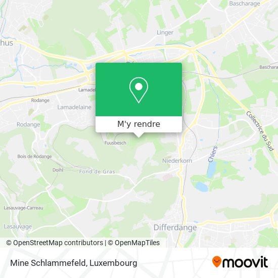 Mine Schlammefeld plan