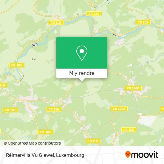 Réimervilla Vu Giewel plan