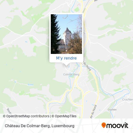 Château De Colmar-Berg plan